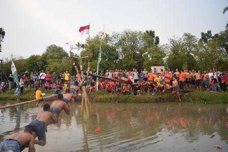 Yonkav 6/Naga Karimata Ikut Meriahkan Perlombaan 17 Agustus
