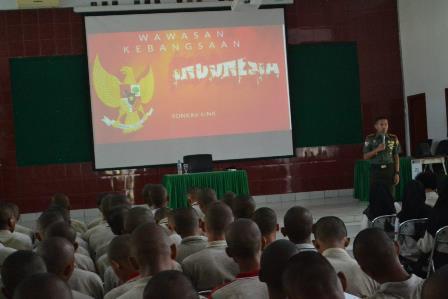Sosialisasi Wawasan Kebangsaan Dan Bela Negara di Kampus STPP Medan