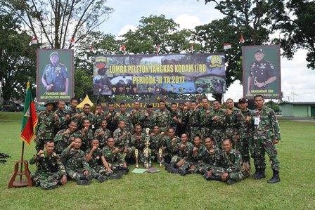 Yonkav 6/NK Raih Juara III Lomba Ton Tangkas Kodam I/BB Priode II TA. 2017
