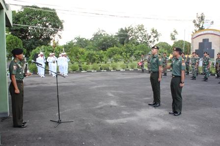 Corp Rapot Pindah Satuan Terhadap  2 Perwira Yonkav 6/NK