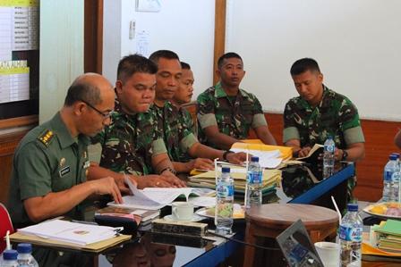 Tim Wasrik Itjenad Mengadakan Pengawasan Dan Pemeriksaan di Yonkav 6/NK