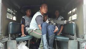Sigap Tolong Korban Kecelakaan, Prajurit Yonkav 6/NK mendapat Pujian dari Masyarakat
