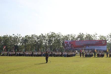 Asistensi Pendidikan Pancasila dan Bela Negara digelar di Yonkav 6/NK Kodam I/BB