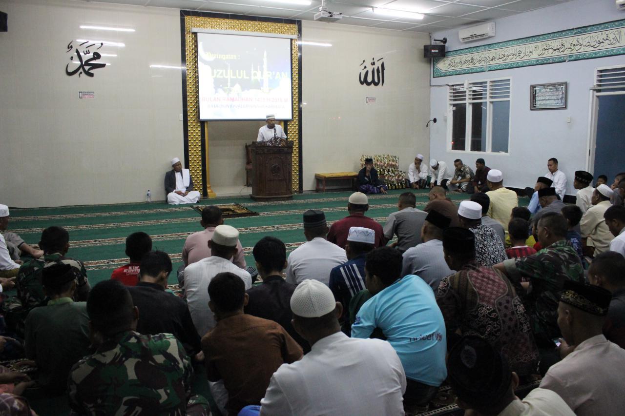 Yonkav 6/NK Gelar Peringatan Nuzulul Qur'an.