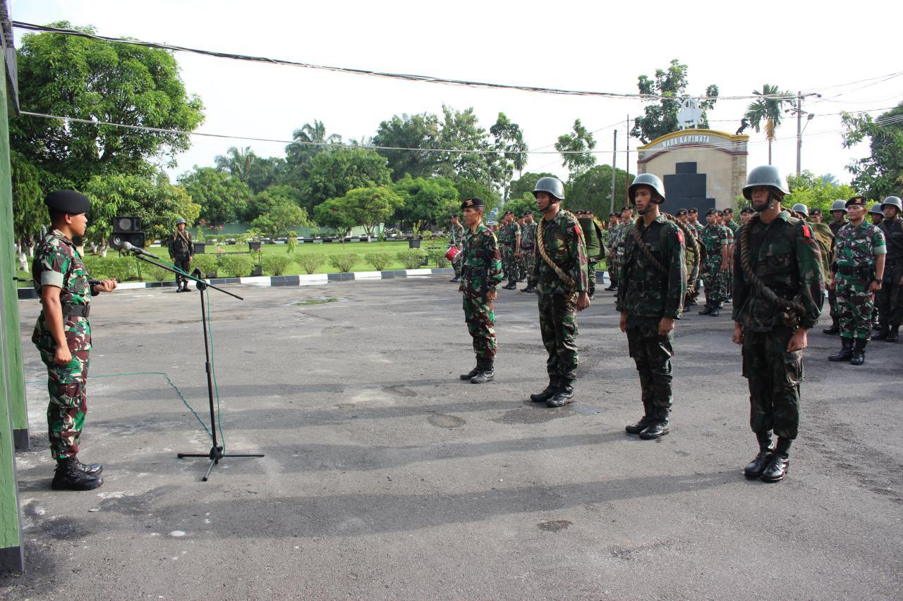 Yonkav 6/NK Laksanakan Acara Tradisi Pembukaan Orientasi Perwira, Bintara dan Tamtama.